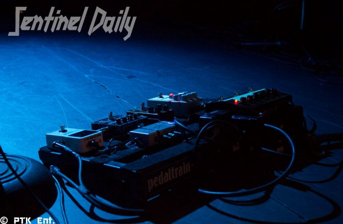 Black Stone Cherry pedalboard
