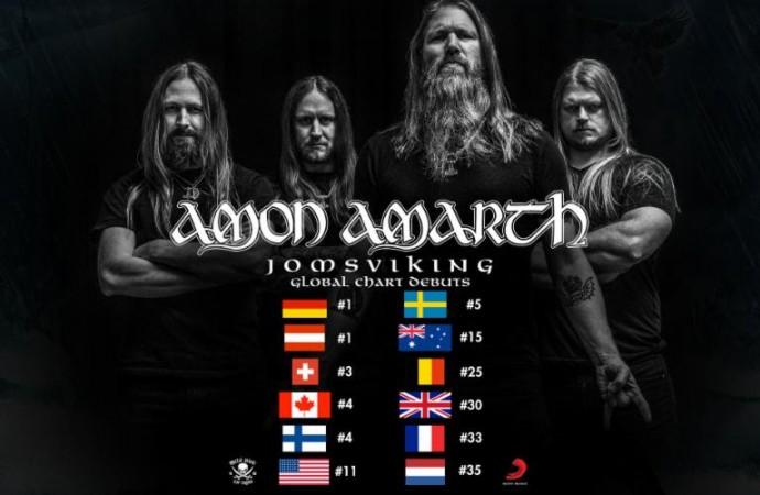 Amon Amarth: US Tour Underway, Worldwide Chart Domination Achieved