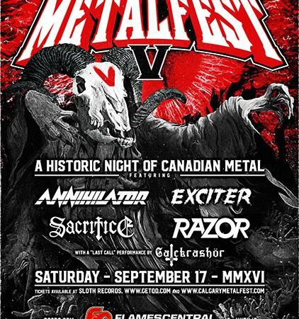 Calgary Metalfest V: Headliners Announced!