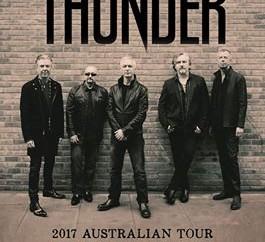 Thunder: Australian Tour Announced!