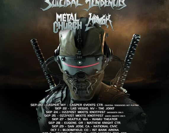 Megadeth: US Tour Dates Confirmed… Amon Amarth on the Bill!
