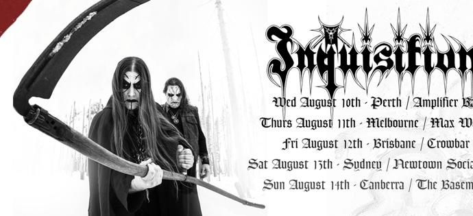 BREAKING: Inquisition Pull Australian Tour.