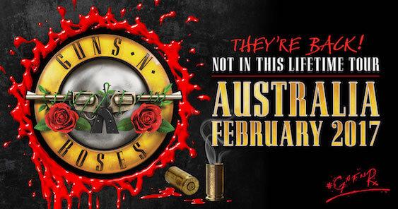Guns N'Roses: Aussie Tour Dates Confirmed!