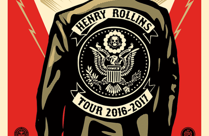 An evening with Henry Rollins – Arts Centre, Melbourne, Australia 19/09/2016