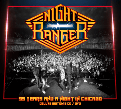 Night Ranger – 35 Years and a Night in Chicago (Frontiers Music)