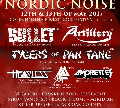 Nordic Noise 2017: Strong Lineup Announced