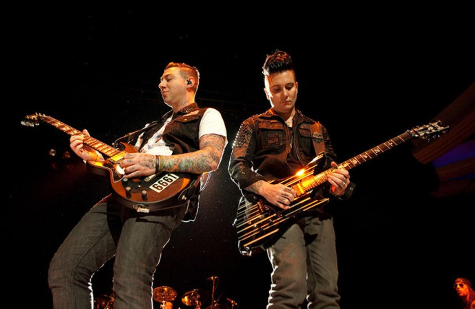 Avenged Sevenfold – London O2 Arena, 21/01/2017