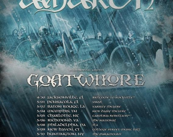 Amon Amarth: On the Road with Goatwhore Soon!
