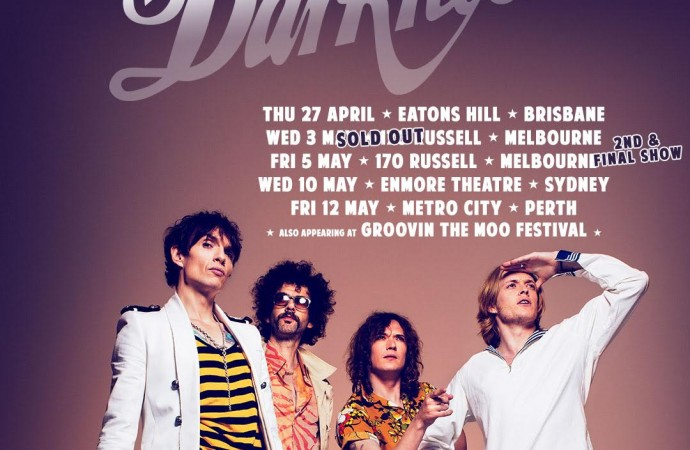 The Darkness: Melbourne Show Sells Out, Second Night Added…