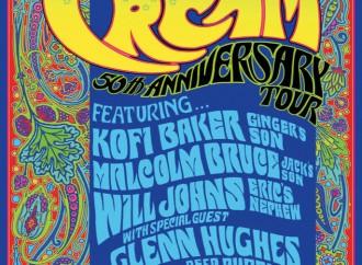 The Music of Cream: 50th Anniversary Tour Heading to Australia
