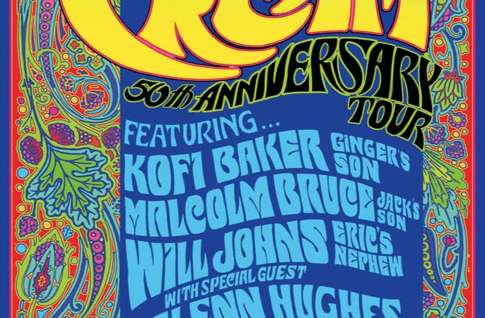 The Music of Cream: 50th Anniversary Tour Heading to Australia