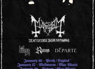 Mayhem: Aussie Tour Supports Announced