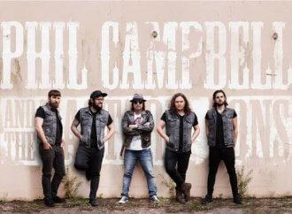 Phil Campbell & the Bastard Sons: Tour Kicks Off Tonight, New Album Due Soon!