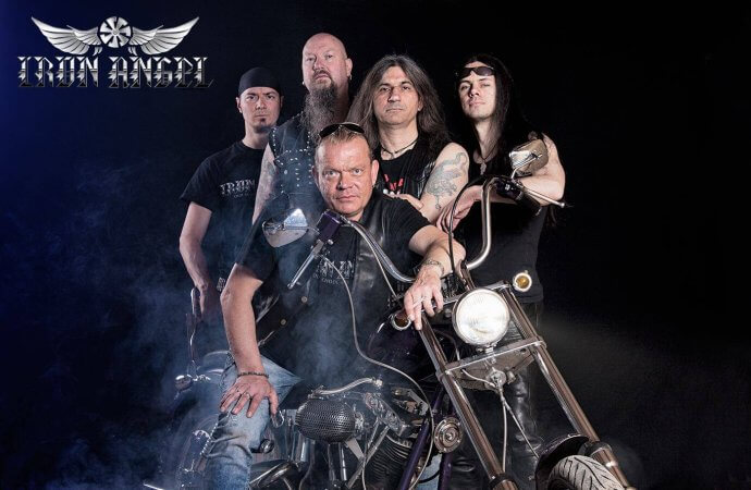 Iron Angel: Legendary Speed Metallers Sign New Deal!