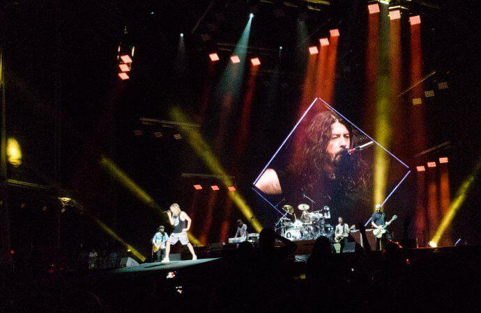 Foo Fighters, Coopers Stadium, Adelaide, 23/01/2018