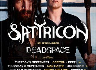 Satryicon: Aussie Tour Postponed…