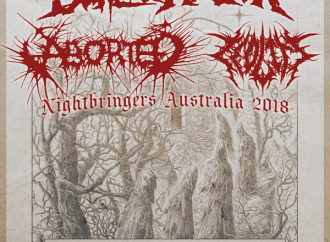 The Black Dahlia Murder: Local Supports for Nightbringers Tour Announced…