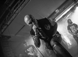 """Aborted's Sven de Caluwe: """"With TerrorVision, we definitely got way more into what I like to call the 'Aborted dark universe'""""…"""