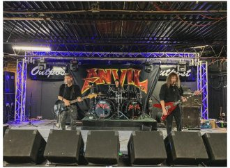 "Anvil's Steve 'Lips' Kudrow: ""I'm Really Living My Dreams, Man""…"