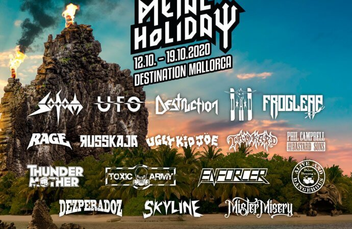 Full Metal Holiday 2020: New Acts Announced!