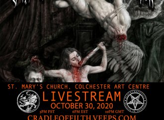 Cradle of Filth: Livestreaming Your Way In October…
