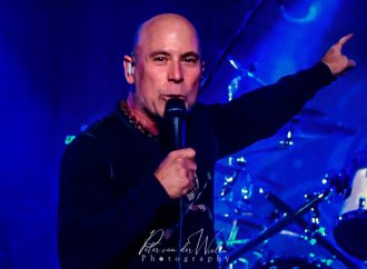 """Armored Saint's John Bush: """"As much as we're a metal band, the groove of the rhythm is pivotal""""…"""