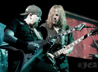 """Death Dealer's Stu Marshall: """"We've developed a signature sound and hopefully this album cements that""""…"""